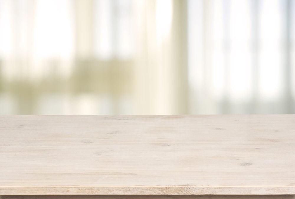 Få en lækker bordplade, der holder længe